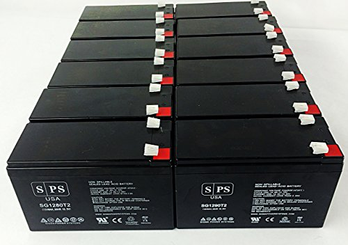 Serial System Ups (Replacement Battery for Belkin Regulator Pro Gold Series-Serial F6C425-SER 12V 8Ah UPS Battery (12 pack))