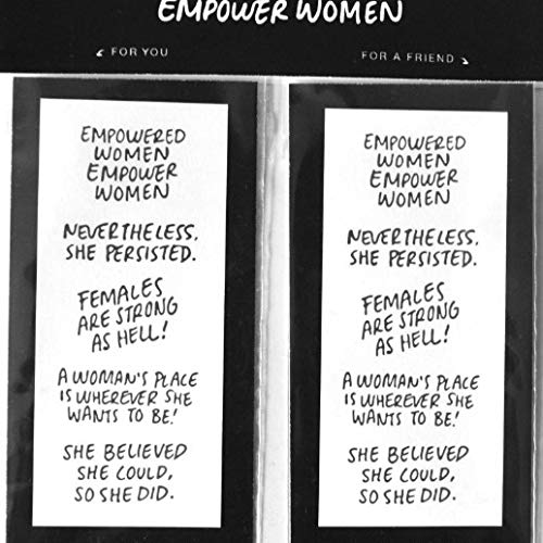 EMPOWERED WOMEN - Tattoo 10-Pack