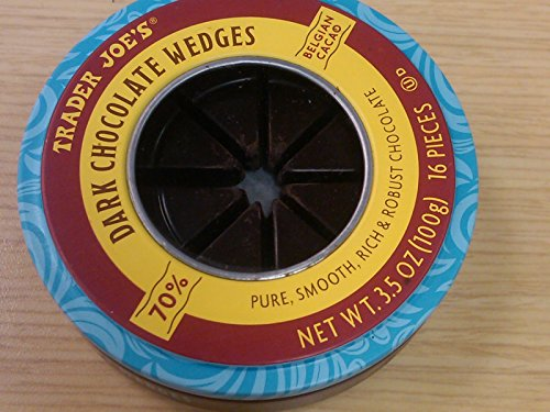 Trader Joe's Extra Dark Chocolate Wedges 73 % Belgian cacao (pack of (Cacao Extra Dark Chocolate)