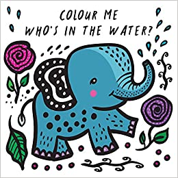 Colouring changing bath book