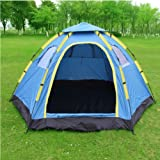 iMeshbean Outdoor 6 Person Large Family Instant Hiking Camping Tent Easy to Setup USA