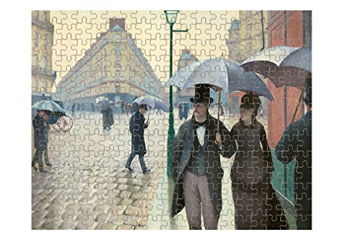 Paris Street On Rainy Day (Caillebotte) Jigsaw Puzzle Print 110 (110 Street Sign)