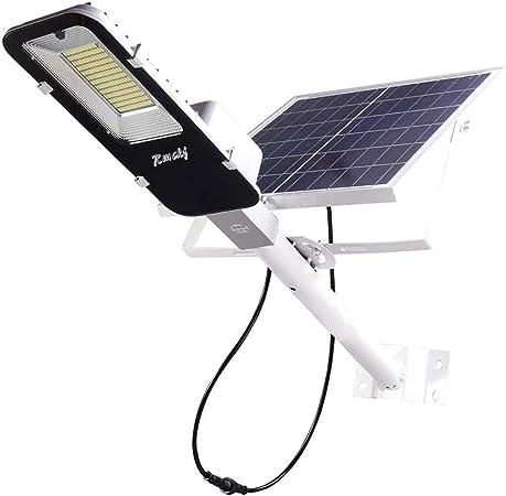 Rmckj-T Luz Solar Exterior Impermeable IP65 LED Farola Solar 50W-400W con Soporte Ajustable Y Control Remoto/Sensor De Radar Luces De Jardín para Calle Patio Jardín (1 Piezas100W,50W: Amazon.es: Hogar