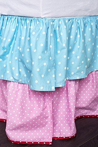 Amity Home Be-You-tiful Home Polka Dot Twin Bed Skirt