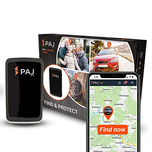 PAJ GPS Allround Finder Version 2020 GPS tracker – Personal GPS tracker devices for Real-time positioning- Antitheft…