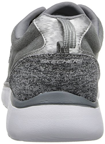 Skechers Counterpart Comfort Quilt - zapatilla deportiva de material sintético mujer gris - Grau (GRY)