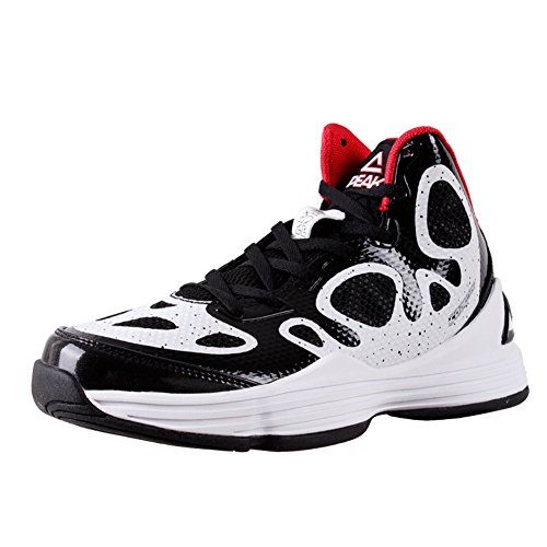 PEAK Basketball Mens White Shoes White Mens Basketball Basketball GALAXY Shoes PEAK Mens GALAXY GALAXY Black Black PEAK qxAH10