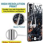 Nainz Designer Printed Soft Silicone Back Case Cover for Tecno Spark 7 Pro Back Cover for Tecno Spark 7 Pro-D095