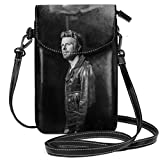 FwadGacx Dierks Bentley Black Crossbody Cell Phone Purse Multipurpose Soft PU Leather Wallet Phone Pouch Shoulder Bag Small Crossbody Bag Mini Cell Phone Pouch Shoulder Bag