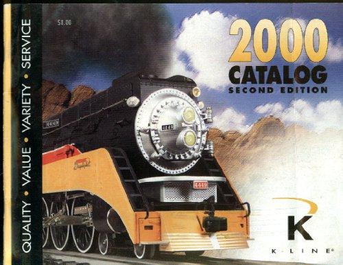 K-Line O Scale Electric Trains Catalog 2000 2nd (Kline Trains)