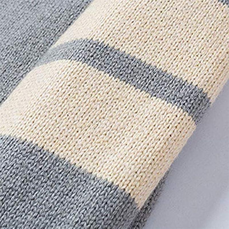 amly Herbst Winter Męskie Cardigan Sweater Mantel Wolle Sweater Jacken Męskie Reißverschluss Strick Dicker Mantel Freizeit Strickwaren M-3XL: Odzież