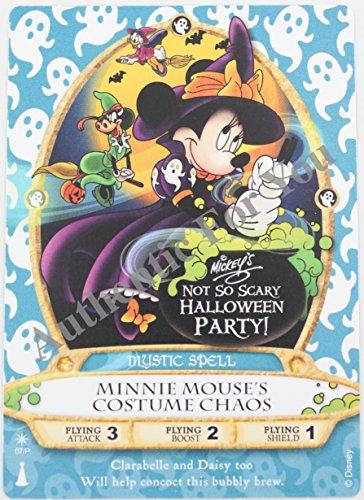 Mickey Not So Scary Halloween Magic Kingdom (Disney 2015 MNSSHP Halloween Party Minnie Sorcerers of the Magic Kingdom Card -)