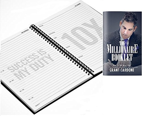 10X GOODS / Grant Cardone 10x Planner + The Millionaire Booklet / How To Get Super Rich / Bundle Set /
