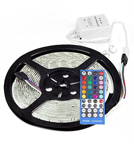 Amazon RV Awning Camper 164ft RGBWW Color Changing LED Strip Light Kit With 5050 300 Leds Waterproof Flexible Lighting Controller 40