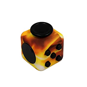 Tloowy Camouflage Fidget Cube Relieves Stress and Anxiety Attention Toy Stress Reliever Fun Toys Relief Reducer