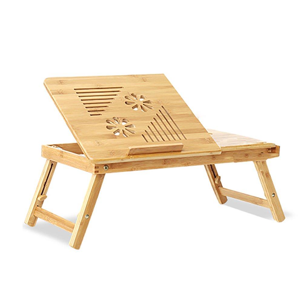 折り畳みテーブル& コンピュータデスクのベッドの使用折り畳み式の小さなテーブルの寮のデスクのゲームを学ぶ仕事 (サイズ さいず : 54*35*22cm) B07F1V3GMX 54*35*22cm 54*35*22cm