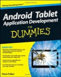 Android Tablet Application Development for Dummies, Donn Felker, 1118096231