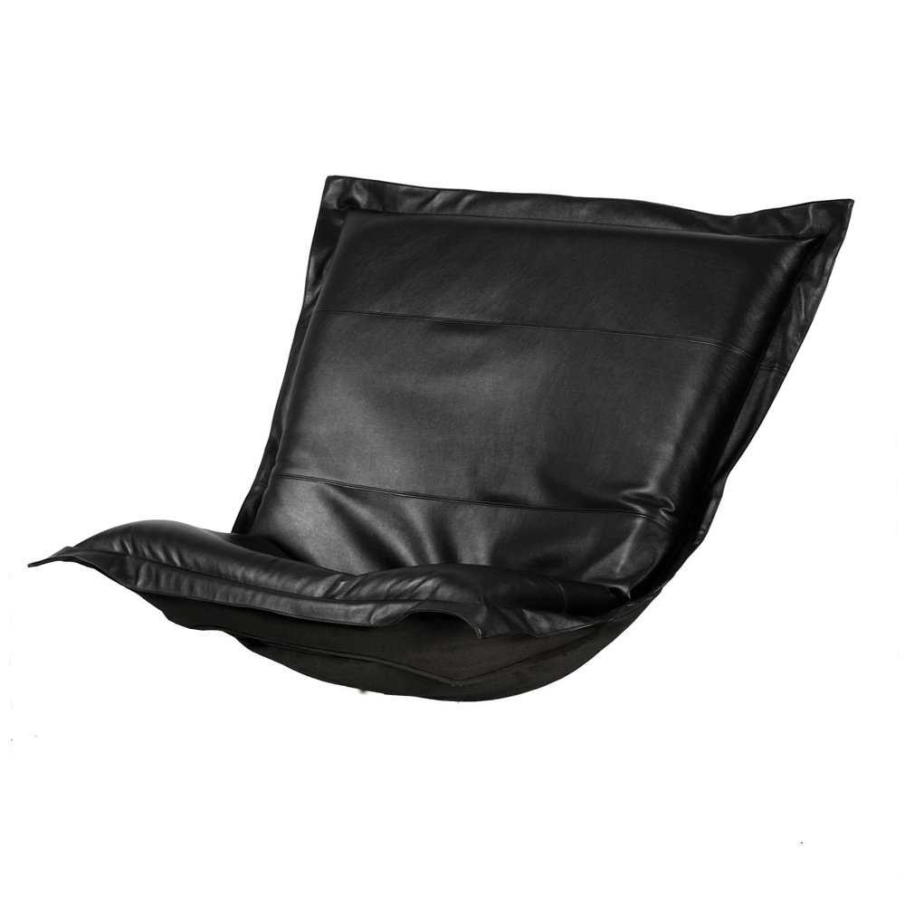 Howard Elliott C300-194 Puff Chair Cover, Avanti Black by Howard Elliott Collection