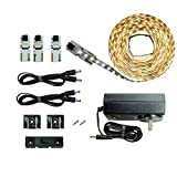 Inspired LED | Lighting | Cut and Connect Series Kit - Ultra Bright | Pure White ~ 4200 K | 9.5ft/ 3M Kit Under Cabinet lighting | Bookcase lighting | Accent Lighting | Dimmable