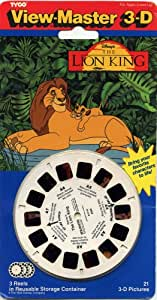 ViewMaster Disney's The Lion King - 3 Reels on Card - NEW