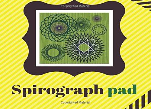 Download Spirograph Pad (Notebook/Journal): BLANK Spirograph Art Series/Kids Art (Coloring Book Pad/Art Journal) ebook