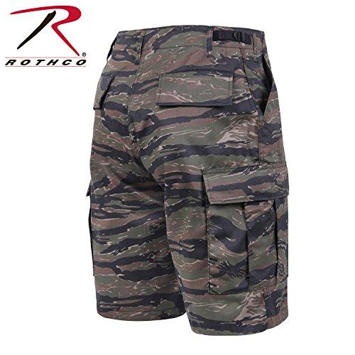 Army Bdu Shorts (Rothco Bdu Short P/C - Tiger Stripe Camo,)