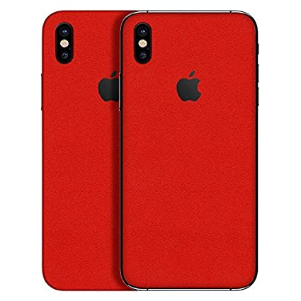 100% authentic edf2a 4300a GADGETS WRAP Apple iPhone X/iPhone Xs Exclusive Red: Amazon.in ...