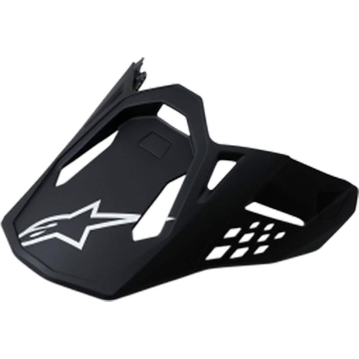 Alpinestars Supertech M-10/M-8 Visor Off-Road Motorcycle Helmet Accessories - Matte Black/One Size