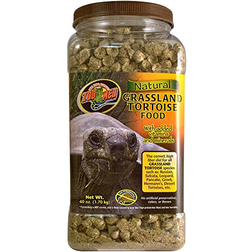 Zoo Med Natural Tortoise Food, 60-Ounce, (Zoo Natural)
