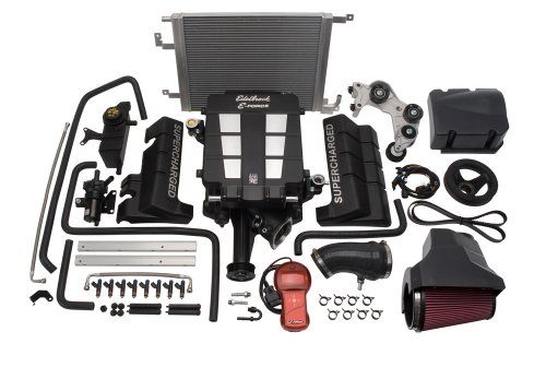 Edelbrock 1536 E-Force Supercharger Kit for Chrysler HEMI 5.7L Engine ()