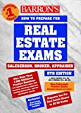 img - for Barron's How to Prepare for the Real Estate Examination: Salesperson, Broker, Appraiser (Barron's How to Prepare for Real Estate Licensing Examinations) by J. Bruce Lindeman (2000-01-01) book / textbook / text book