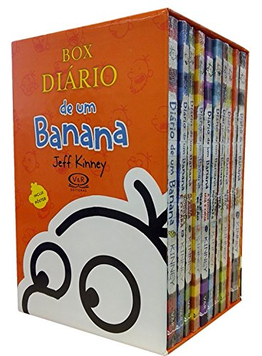 Box - Diário de um Banana - 10 Volumes