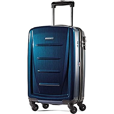 Samsonite Winfield 2 Fashion 20 Carry On Luggage, Deep Blue