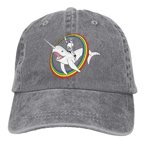 Narwhal Rainbow Stormtrooper Snapback Cotton Hat