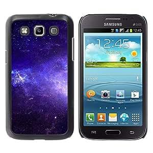 Hermosa Blue Skies - Metal de aluminio y de plástico duro Caja del teléfono - Negro - Samsung Galaxy Win I8550