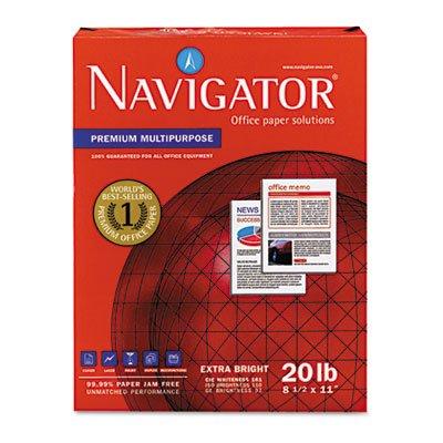 Premium Multipurpose Paper, 97 Brightness, 20lb, 8-1/2x11, White, 5000/Carton, Sold as 10 Ream