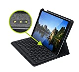 Genuine Apple MFi Certified iPad Pro 10.5 Keyboard Case with Smart Connector Backlit and Pencil Holder (English Layout)