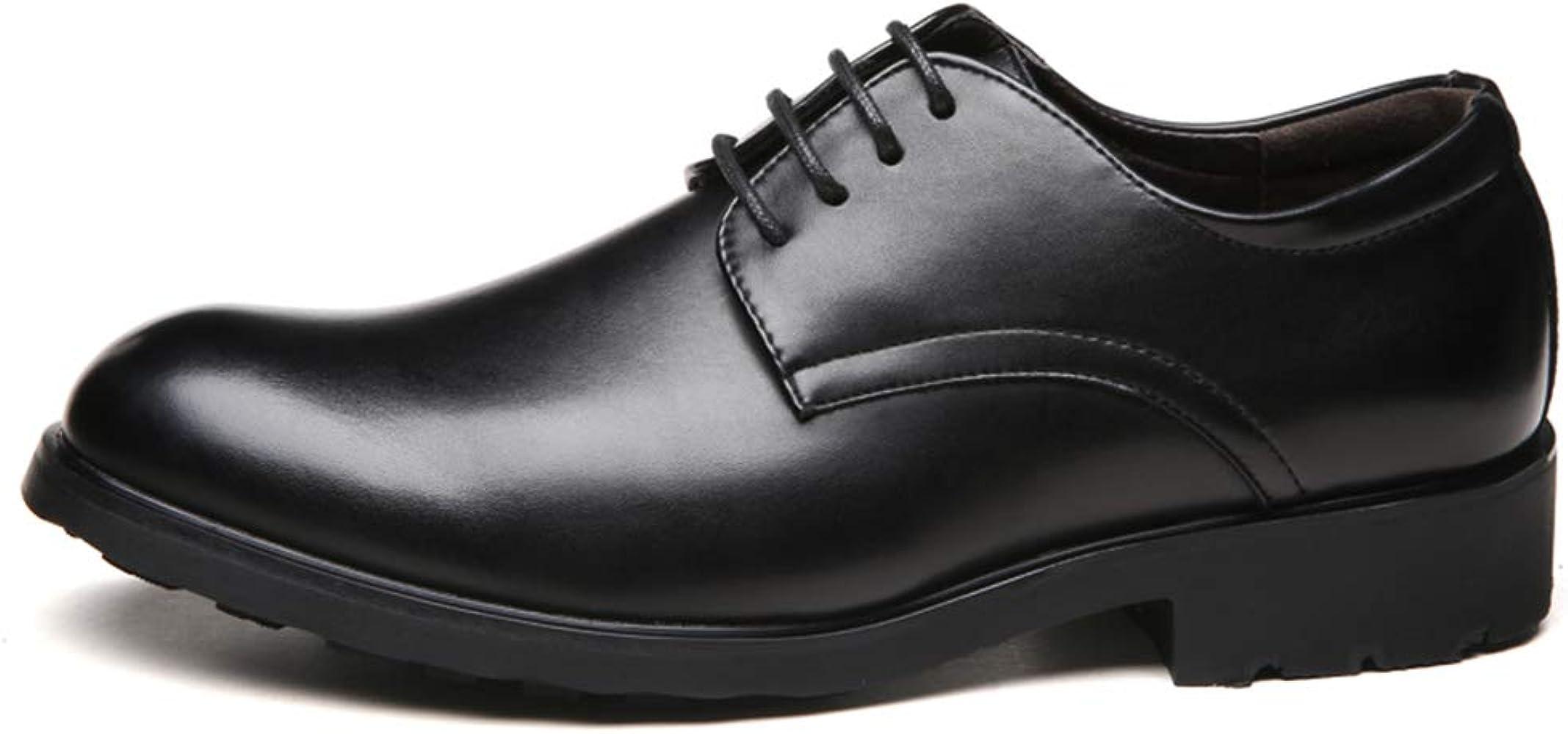 HILOTU Zapatos de Vestir para Hombre, cómodos Casuales de ...