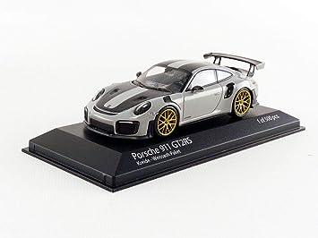 Minichamps 410067220 1:43 Porsche 911 (991.2) GT2RS 2018, Color Gris