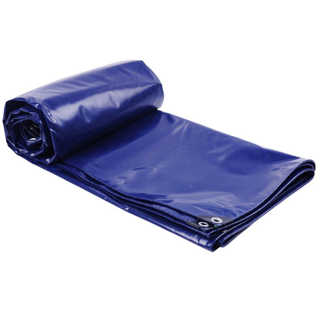 Plane Persenning Dauerhafte Qualitäts-Plane-Stärke 0.4mm Boden-Blatt-Abdeckungen für das Kampieren, Fischen, im Garten arbeiten, Multi-Größen-Wahlen (blau) Abdeckplanen (größe   4MX6M)