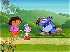 El camión de los helados se ha ido, ¡pero Dora y Boots no lo alcanzaron! Ayúdalos en una deliciosa aventura a la Isla de los Conos.