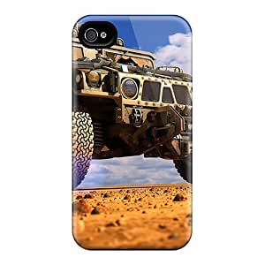Fashion IVyfEPs5239YhtEF Case Cover For Iphone 4/4s(hummer)
