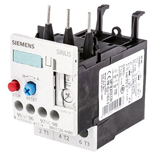 Siemens 3RU11 26-4AB0 Thermal Overload Relay, For Mounting Onto Contactor, Size S0, 11-16A Setting Range by Siemens