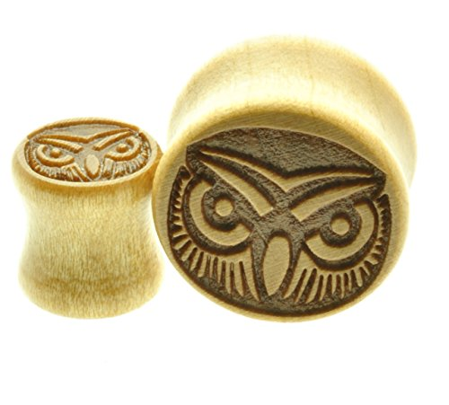 00 gauges plugs owl - 5