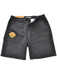 Mens Comfort UPF 30 W/Tech Pocket Hiking Short, Dark Grey