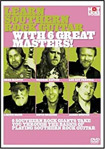 Learn Southern Rock Guitar With 6 Great Masters (DVD & Booklet) [Import]