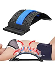 Bcway Back Stretcher, Multi-Level Lumbar Back Device for Upper and Lower Pain Relief,Herniated Disc,Sciatica, Scoliosis ,Spine Deck on Bed Chair Car