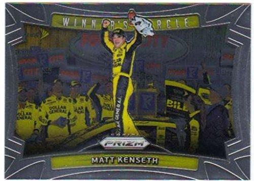 (2016 Panini Prizm Racing Insert Winners Circle #8 Matt Kenseth)