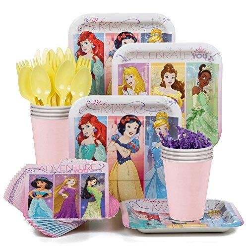 Costume Supercenter BBKIT788 Disney Princess Party Standard Tableware Kit