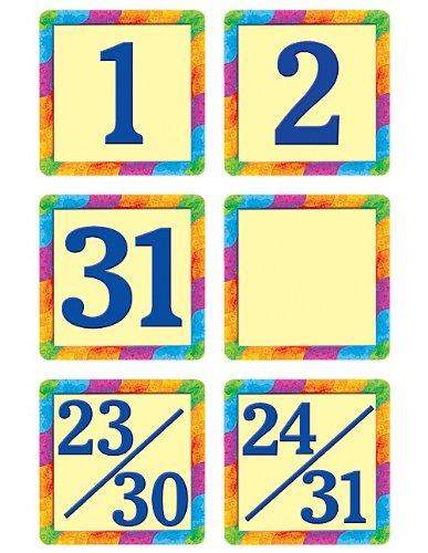 - Teacher Created Resources Rainbow Calendar Days Mini Pack , 4582